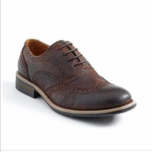 Kenneth Cole Reaction Rogue Leather Oxfords